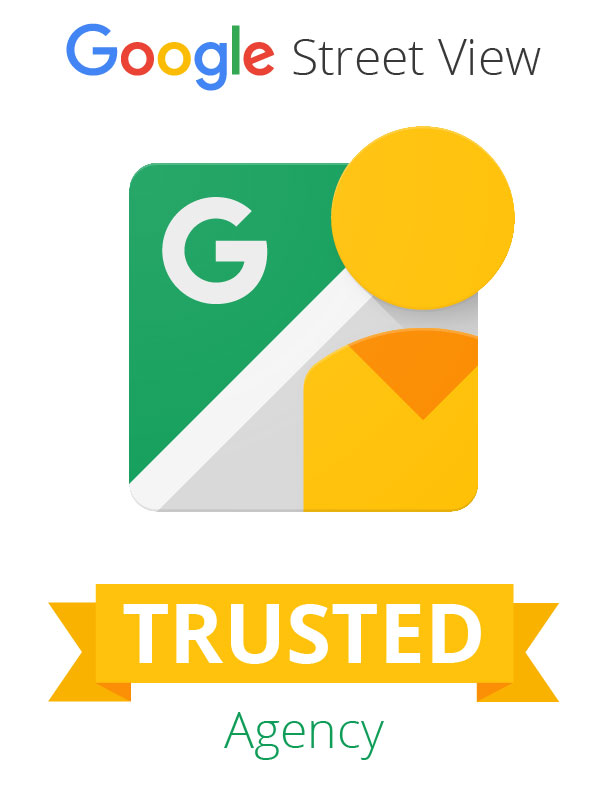 logo Google Street View TRUSTED Agency